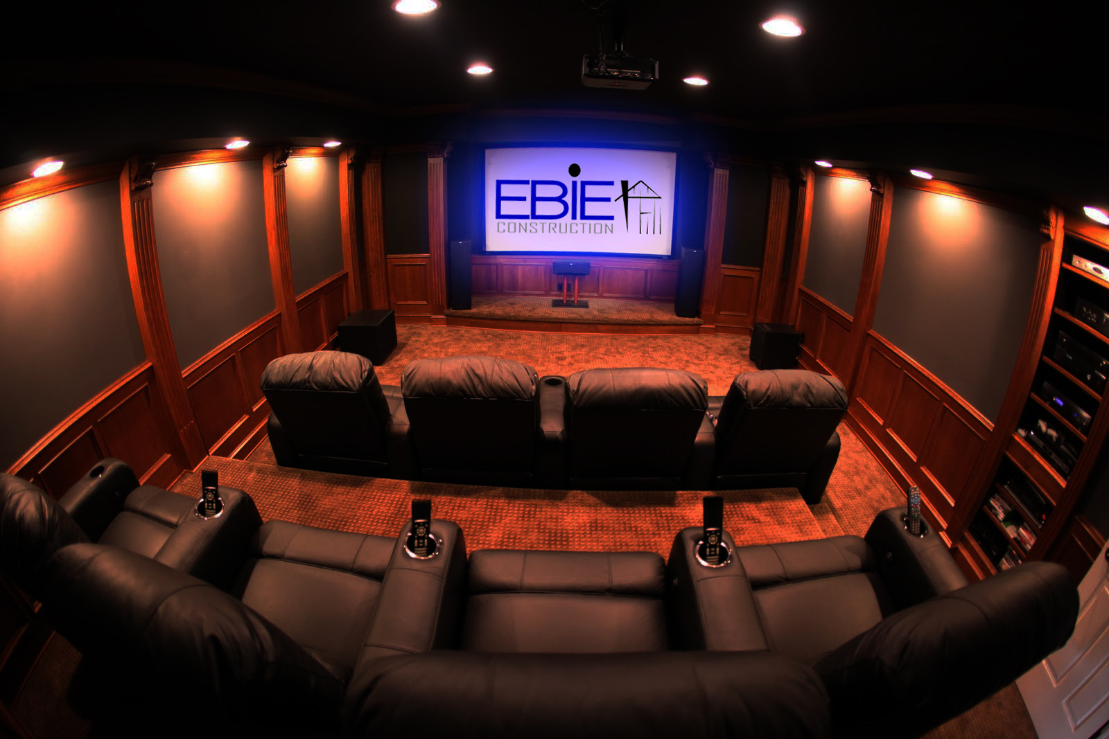 Custom Home Theater Room Installers Tampa Bay Area