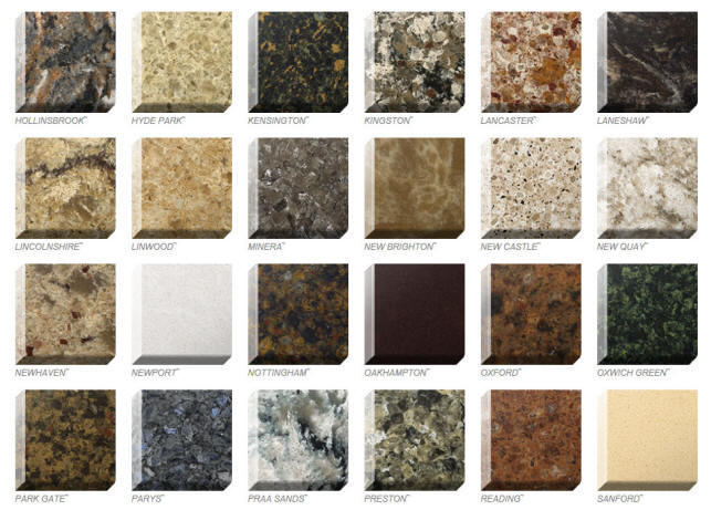 Quartz Colors Styles Ebie Construction
