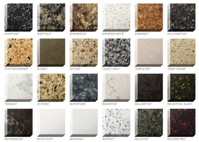 Quartz colors styles ebie construction for Who makes quartz countertops